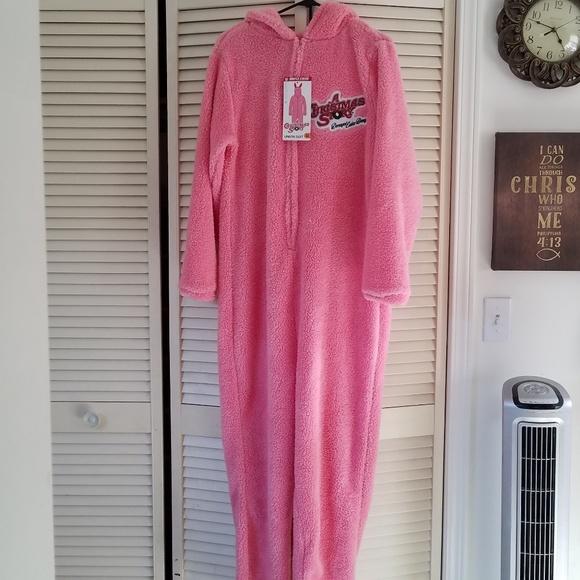 nwt a christmas story pink bunny pajamacostume